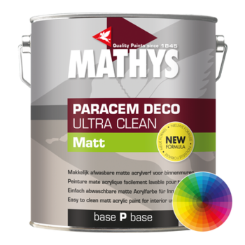 Paracem Deco Ultra Clean Matt kleur