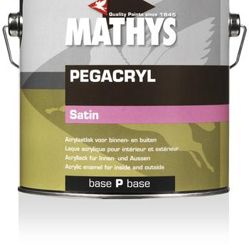 Pegacryl Satin kleur