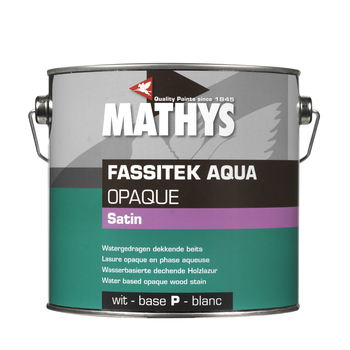 Fassitek Aqua Opaque kleur