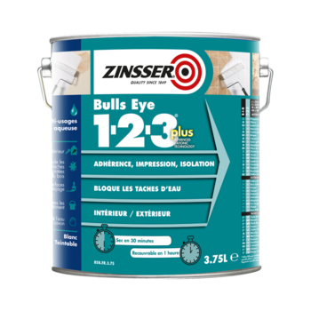 Zinsser Bulls Eye 1-2-3 Plus