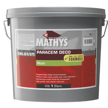Mathys Paracem deco muurverf mat wit