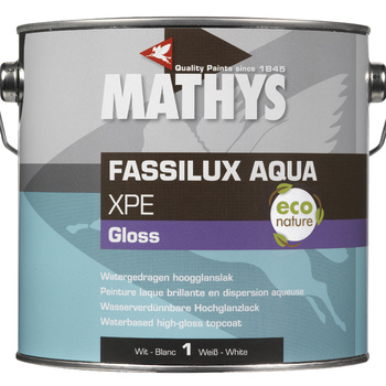 Fassilux Aque XPE Gloss WIT 2,5 lt