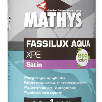 Fassillux Aqua XPE Satin WIT 1 lt