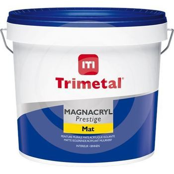 TRIMETAL MAGNACRYL PRESTIGE MAT WIT ACTIE 10 Lt